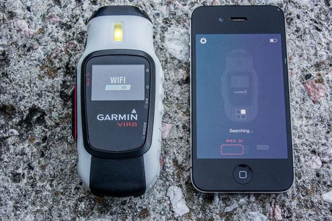 Virb сопряжение со смартфоном