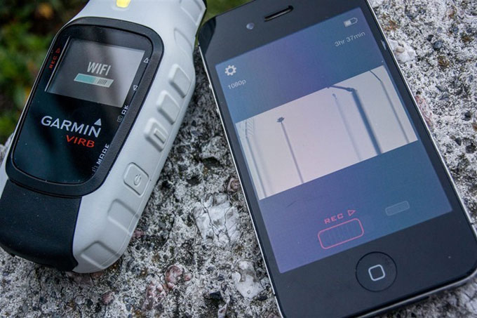 Virb управление со смартфона