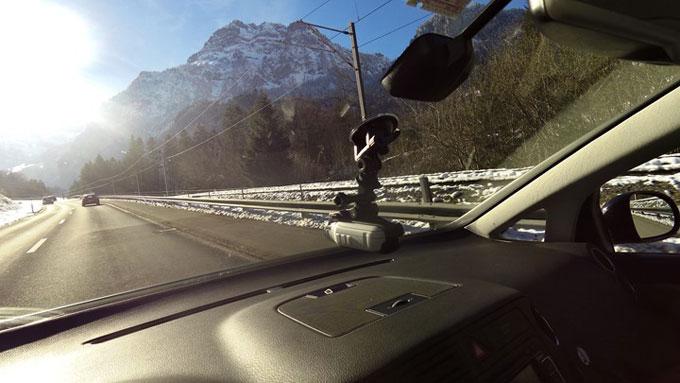 Virb тестирование в автомобиле