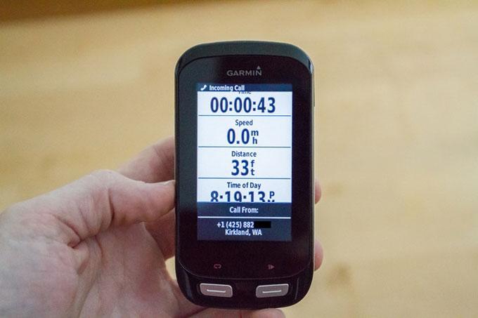 Велонавигатор Garmin Edge 1000. Синхронизация со смартфоном