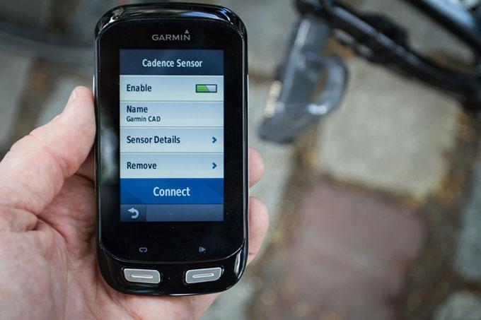 Велонавигатор Garmin Edge 1000. Подключение датчиков