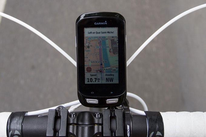 Велонавигатор Garmin Edge 1000. Картография