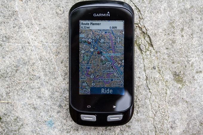 Велонавигатор Garmin Edge 1000. Создание маршрута