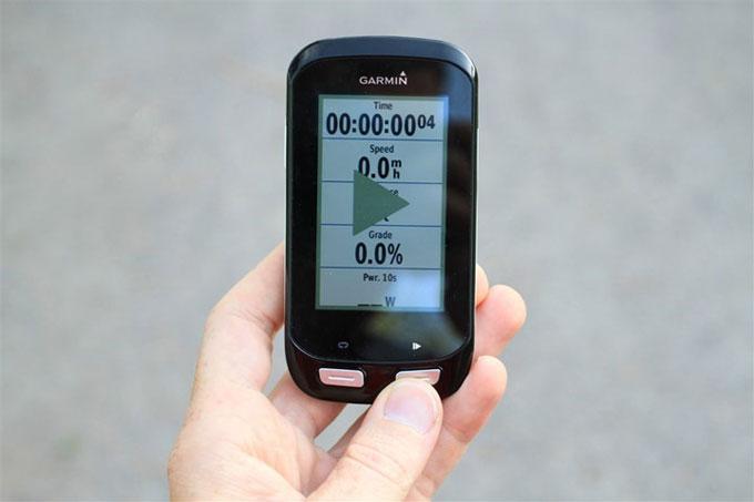 Велонавигатор Garmin Edge 1000. Обычное использование