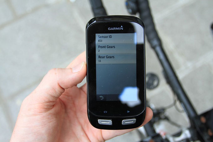 Велонавигатор Garmin Edge 1000. Электронная система Shimano Di2