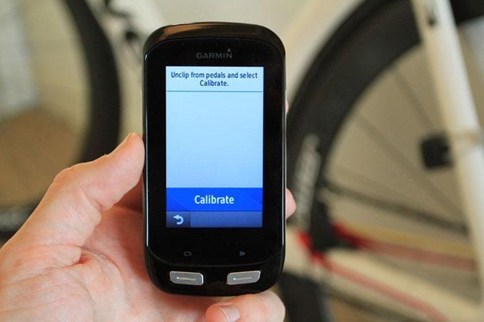 Велонавигатор Garmin Edge 1000. Калибровка измерителя мощности