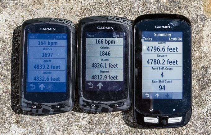 Велонавигатор Garmin Edge 1000. Барометрический альтиметр