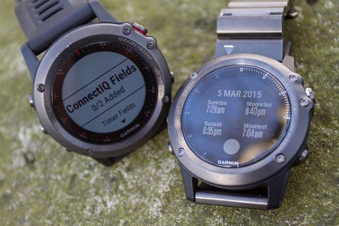 Мультиспортивные часы fenix 3. Платформа Connect IQ