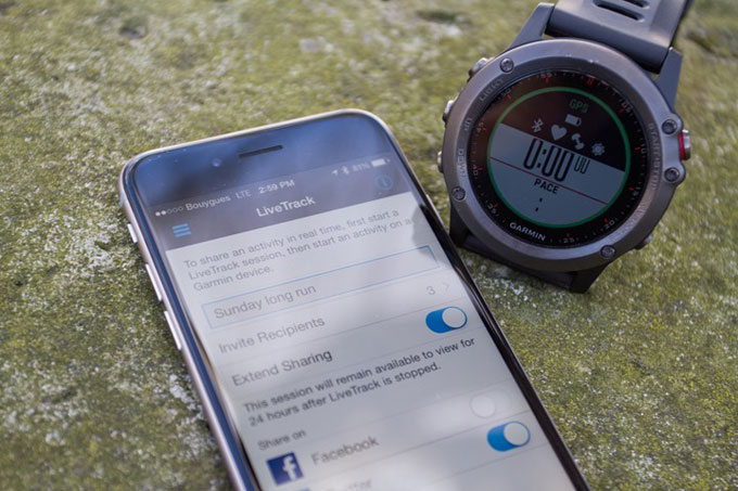 Часы для мультиспорта и туризма Garmin fenix 3. Смарт нотификации