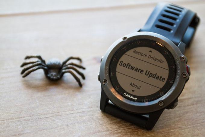 Мультиспортивные часы Garmin fenix 3. Ошибки и неисправности
