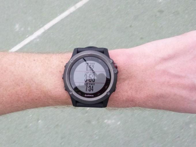 """Мультиспортивные часы Garmin fenix 3. Режим """"Бег"""""""