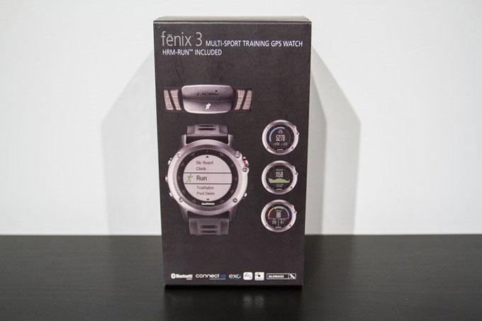 Портативный навигатор Garmin fenix 3. Распаковка
