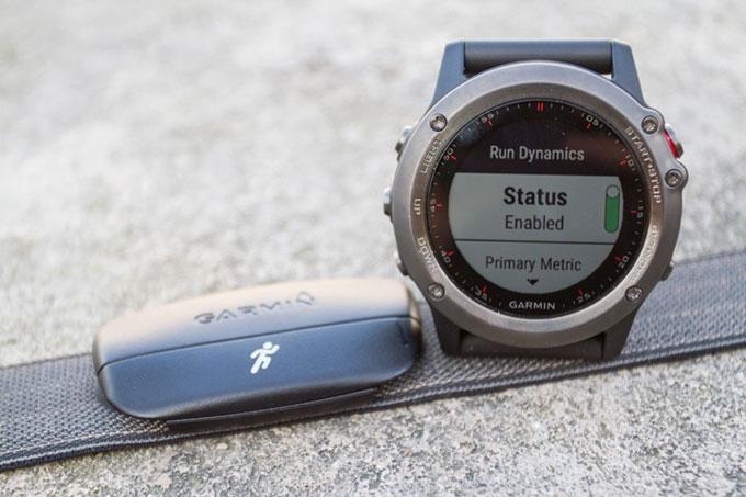 Спортивные GPS-часы Garmin fenix 3. Кардиомонитор HRM-RUN