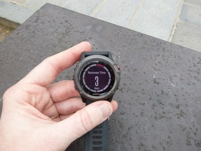 Спортивные GPS-часы Garmin fenix 3. Восстановление
