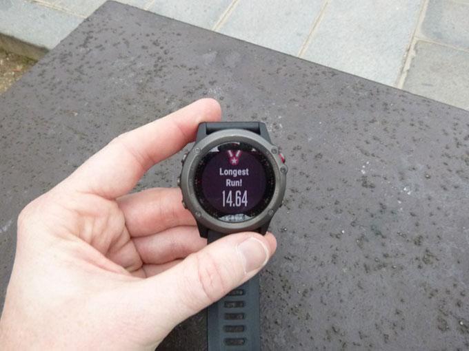 Спортивные GPS-часы Garmin fenix 3. Личные рекорды