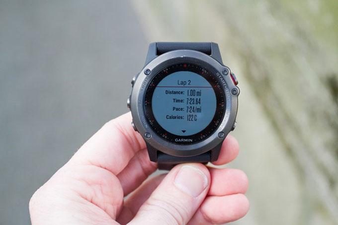 Спортивные GPS-часы Garmin fenix 3. Беговая статистика