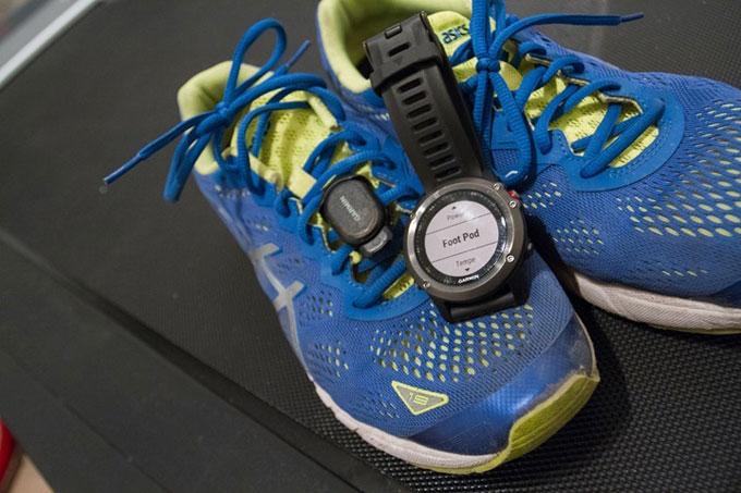 Спортивные часы Garmin fenix 3. Бег в помещении