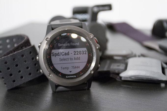 """Мультиспортивные часы Garmin fenix 3. Режим """"Велоспорт"""""""