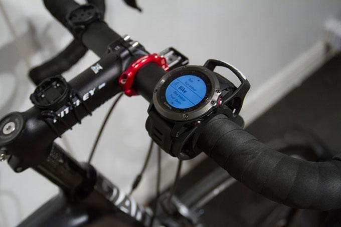 Портативный навигатор Garmin fenix 3. Установка на велосипед