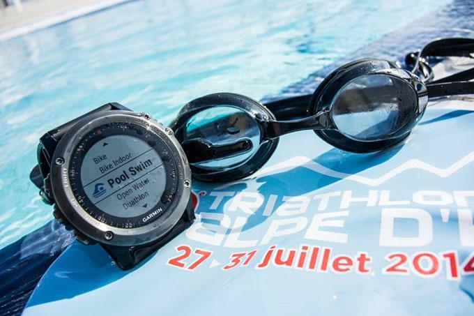 """Мультиспортивные часы навигатор Garmin fenix 3. Спортивный режим """"Плавание"""""""