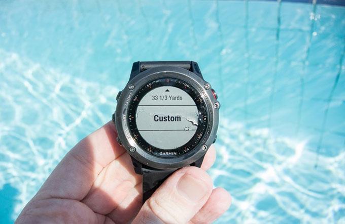 Мультиспортивные часы Garmin fenix 3. Плавание в бассейне