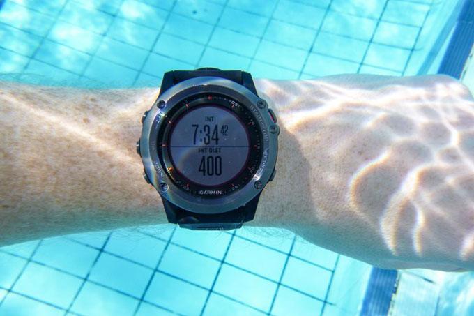 Навигатор для триатлона Garmin fenix 3. Плавание в бассейне