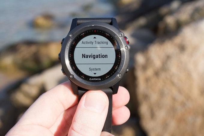 Туристический навигатор Garmin fenix 3. Навигация