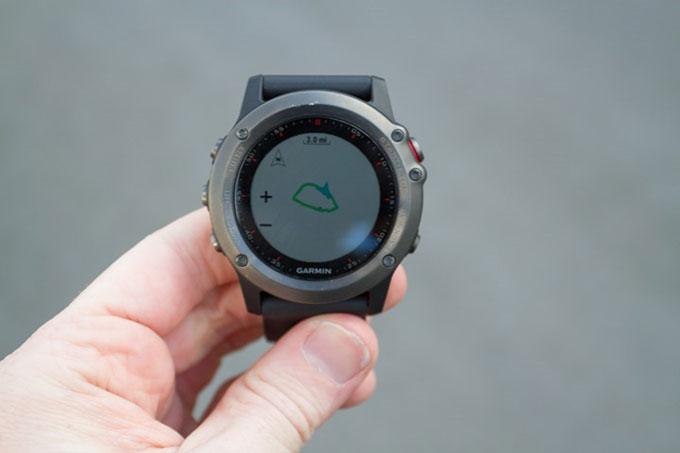 Туристический GPS навигатор Garmin fenix 3. Профиль высоты