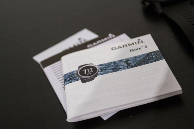 Портативный навигатор Garmin fenix 3. Инструкция по эксплуатации