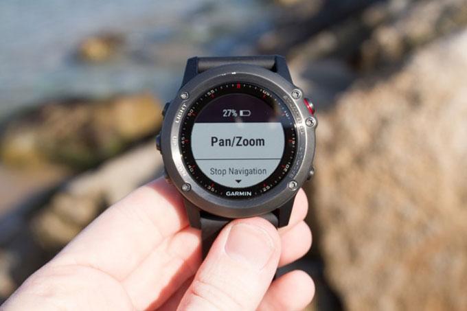 Туристический GPS навигатор Garmin fenix 3. Навигация