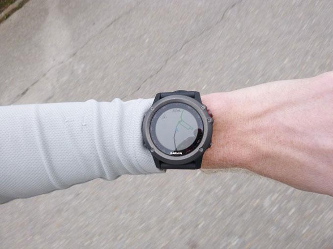 Туристический GPS навигатор Garmin fenix 3. Навигация по маршруту