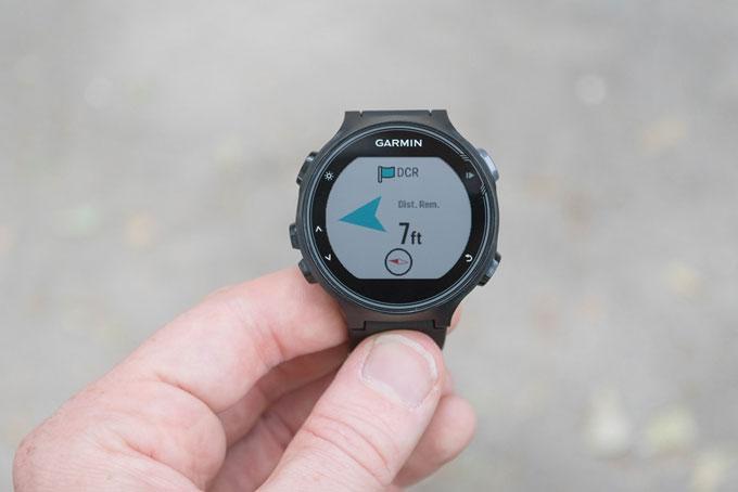 Часы Forerunner 735XT. Навигация