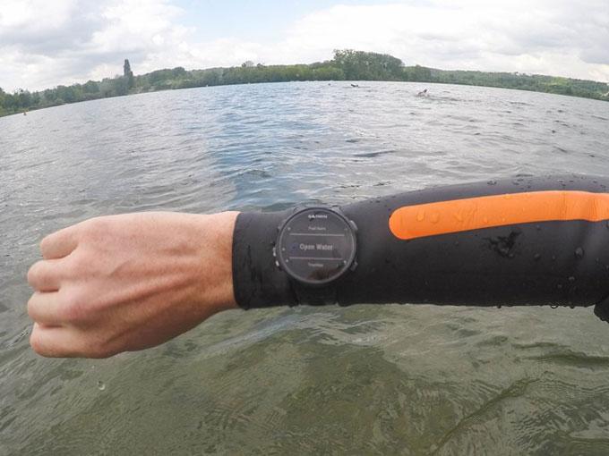 Forerunner 735XT. Плавание в открытых водоемах