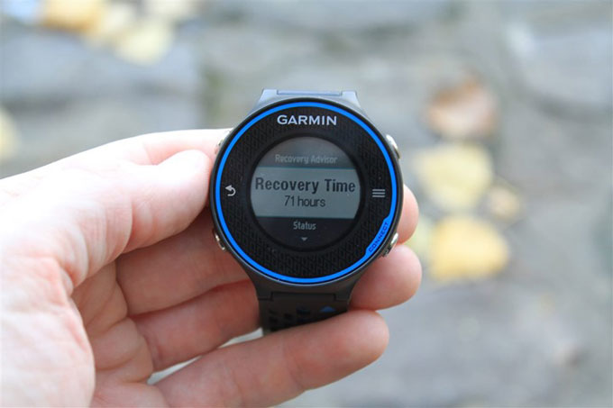 Forerunner 620 Recovery Time