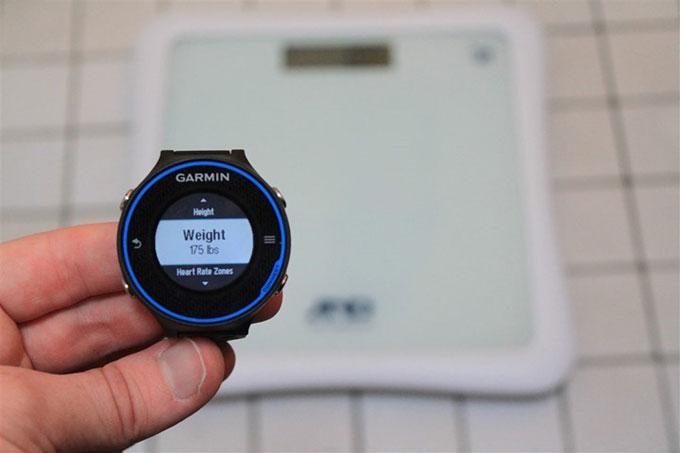 Forerunner 620 подключение ANT + весов