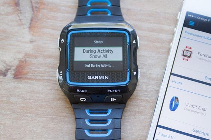 Смарт-часы для триатлона Garmin Forerunner 920XT. Умные уведомления