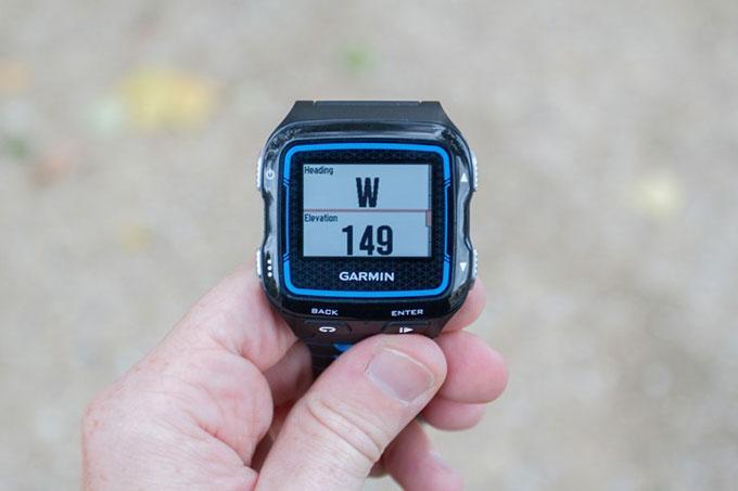 Спортивные часы для триалона Garmin Forerunner 920XT. Определение высоты (альтиметр)