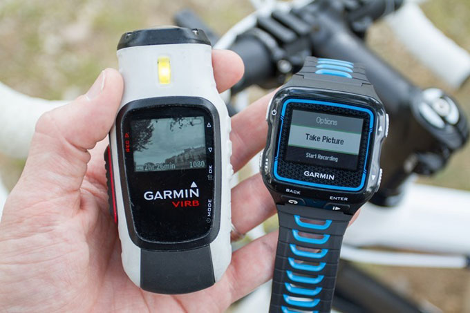 Часы для мультиспорта Garmin Forerunner 920XT. Управление экшн-камерами VIRB