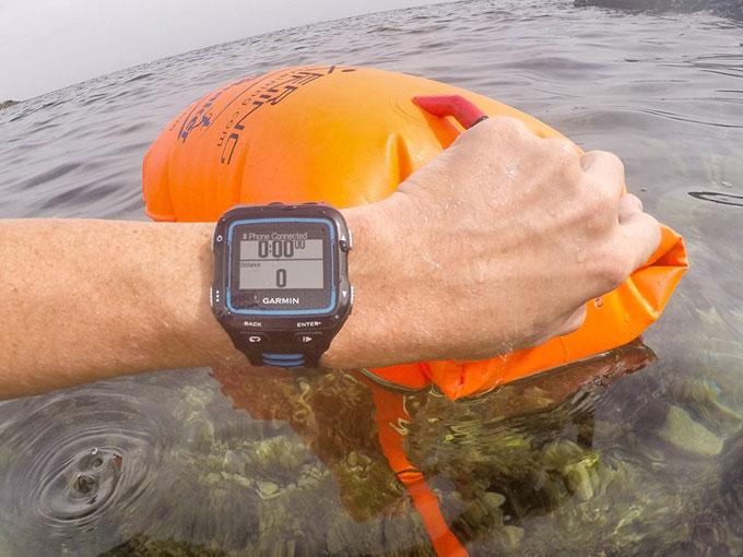 """Спортивные GPS-часы для триатлона Garmin Forerunner 920XT. Режим """"Плавание в открытом водоеме"""""""