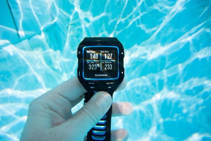 """Спортивные часы для мультиспорта forerunner 920XT. Режим """"Плавание"""""""