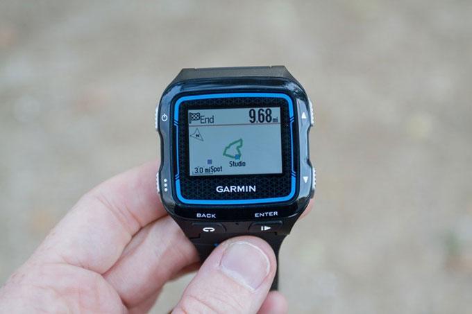 GPS навигатор для мультиспота Garmin Forerunner 920XT. Навигация