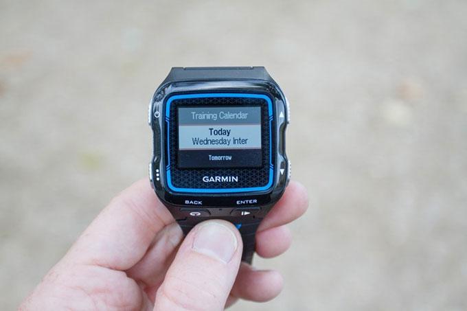 Спортивные часы для мультиспота Garmin Forerunner 920XT. Создание тренировок, интервалов, календарь тренировок
