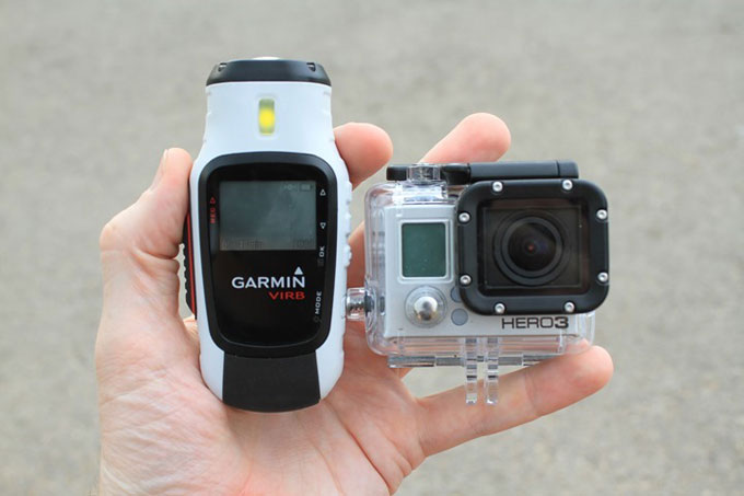Экшн-камеры Virb и GoPro