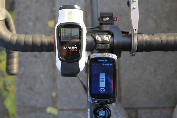 Экшн-камера Virb и велонавигатор Edge