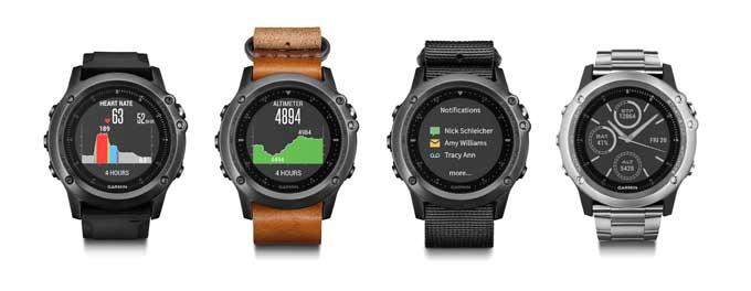 Мультиспортивные часы Garmin fenix 3 Sapphire