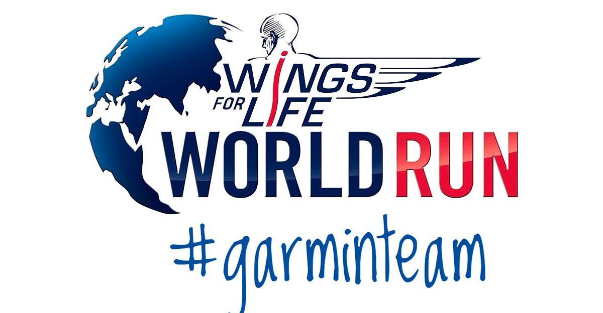 Garmin Team на WINGS FOR LIFE APP RUN