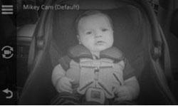 Garmin babyCam. Функция ночного видения