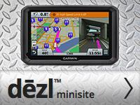 Garmin Dezl 770 мини-сайт