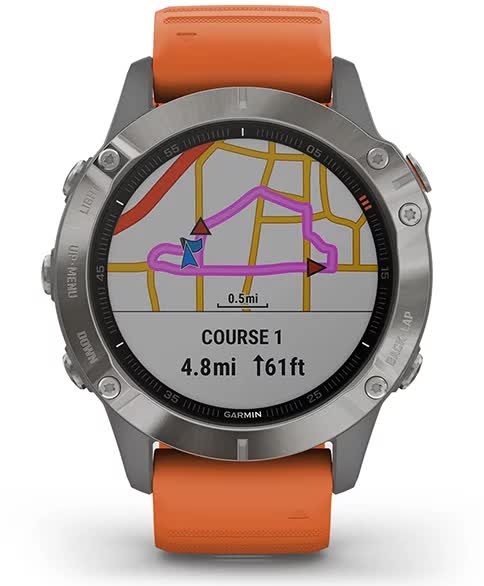 Garmin fenix 6. Round Trip Routing