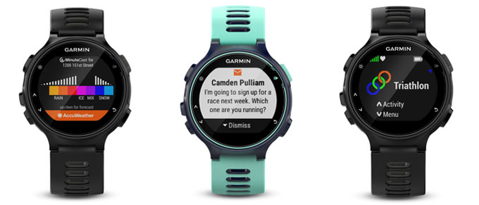 Forerunner 735XT. Смарт функции, Garmin Connect